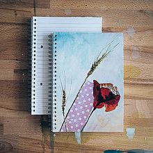 Papiernictvo - Zápisník, V makovom údolí - 6422110_