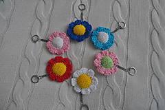 Kľúčenky - Kľúčenka kvetinka - 6423666_