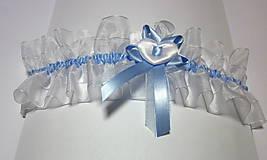 Podväzok pre nevestu Niečo modré