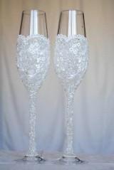 Nádoby - Svadobné poháre Luxus - 6420262_