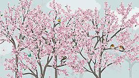 Vtáčí les - jar