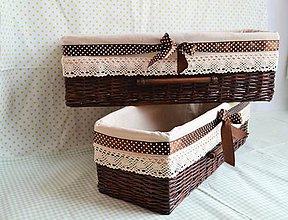 Košíky - Čokoládové tabličky/ks - 6420590_