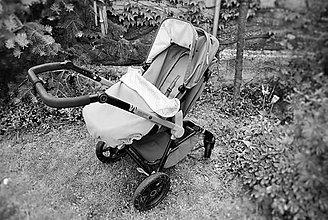 Detské súpravy - Ľahučká deka do kočíka či autosedačky - 6424410_