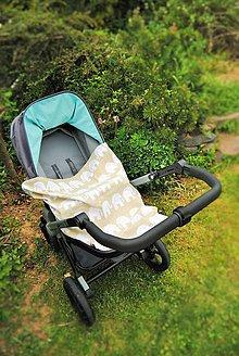 Textil - Prikrývka s úchytom - 6424449_
