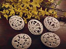 Dekorácie - Háčkovaná kraslica - 6425713_