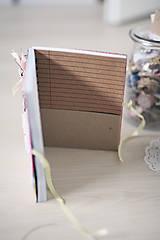 Papiernictvo - Na svadobné poznámky - 6425643_