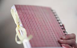 Papiernictvo - Na svadobné poznámky - 6425644_
