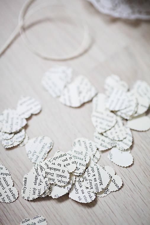 Svadobné konfety - text - 100ks (výzdoba)