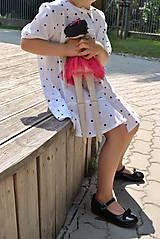 Detské oblečenie - Šaty OLIVIA bodkové - DOPREDAJ - 6425491_