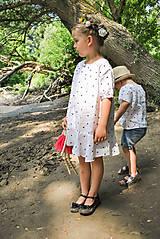 Detské oblečenie - Šaty OLIVIA bodkové - DOPREDAJ - 6425493_