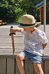 Detské oblečenie - Košieľka OLIVER bodkovaná - dopredaj - 6426038_