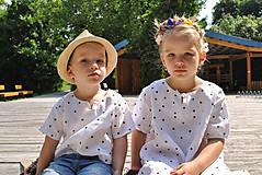 Detské oblečenie - Košieľka OLIVER bodkovaná - dopredaj - 6426039_