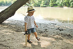 Detské oblečenie - Košieľka OLIVER bodkovaná - dopredaj - 6426040_