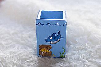 Detské doplnky - Stojan na perá a ceruzky Námorník - 6424727_