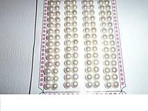 perly prírodné pravé - polvŕtané 6mm