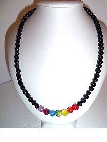 Náhrdelníky - čakra náhrdelník pánsky - 6426410_