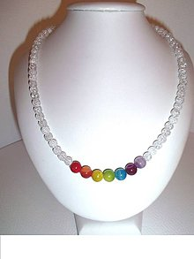 Náhrdelníky - čakra náhrdelník dámsky - 6426416_