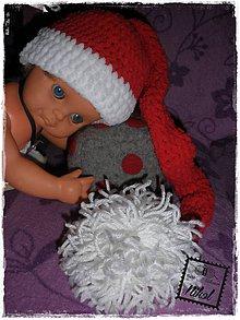 Detské čiapky - ...škriatková s brmbolcom... - 6424610_