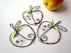 Dekorácie - jablko - 6426887_