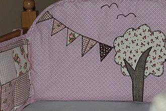 Textil - Mantinel na detskú posteľ - dievča - 6431314_
