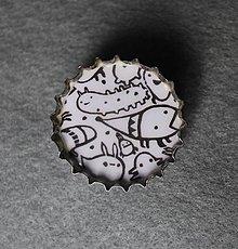 Odznaky/Brošne - Chrobáci :) - 6431479_