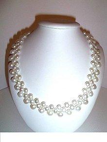 Náhrdelníky - Esperanza náhrdelník z perál - 6430423_