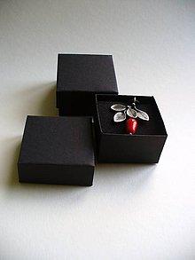 Krabičky - šperková malá s molitanom - 6430239_