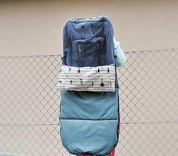 Textil - Jarno-jesenná fusakodeka do rehabilitačného kočíka 130 cm - 6433399_