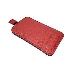 Na mobil - Kožené púzdro na mobil s vysúvaním (rôzne farby a rozmery) - 6435997_