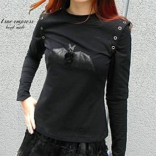 Topy - Gotická mikina s netopierom - 6432252_