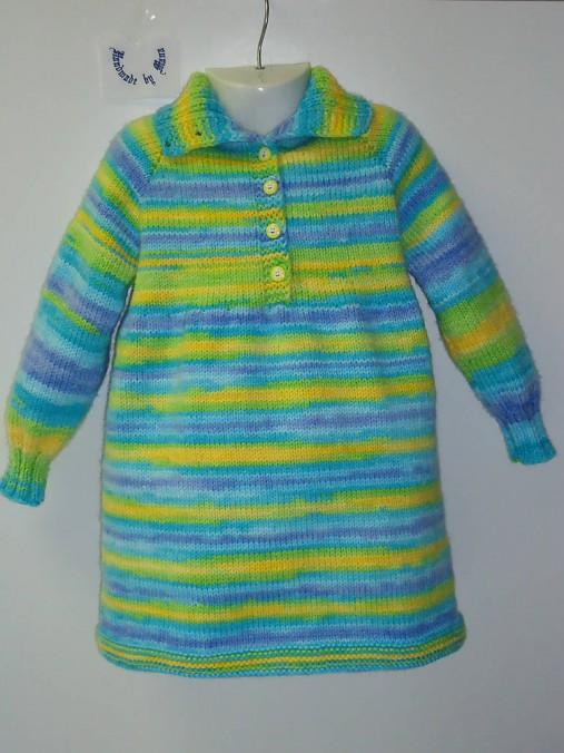 ee13ffdc293a Pletené detské šaty   mana61 - SAShE.sk - Handmade Detské oblečenie