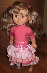 Bábiky - Šaty s volánikmi - 6435221_