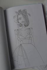Kresby - Vymaľuj si módnu rozprávku - 6435968_