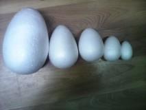 Polotovary - Polystyrénové vajíčka - 6435684_