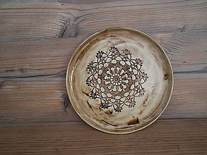 Nádoby - Tanier dezert Sedmikráska 21 cm - 6436370_