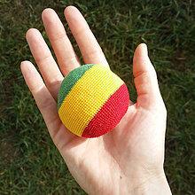 Hračky - Hekis, footbag,hacky sack, ktorý sa nebojí vody :) - 6437004_