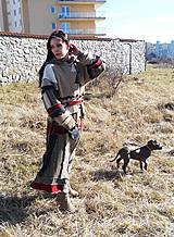 Svetre/Pulóvre - lel, teplohrej patchwork - 6438568_