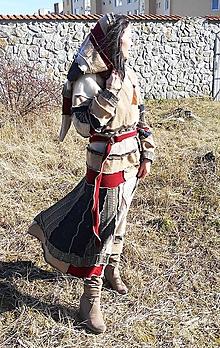 Svetre/Pulóvre - lel, teplohrej patchwork - 6438566_