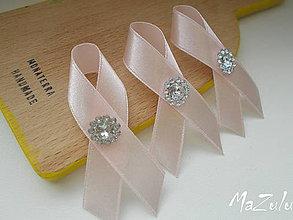 Pierka - svadobné pierka v pastelovoRužovej - 6436620_