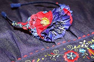 Ozdoby do vlasov - Čelenka kvetinová na mieru k vášmu outfitu - 6440749_