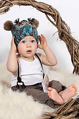 Detské čiapky - Detská čiapka Sovička - 6440532_