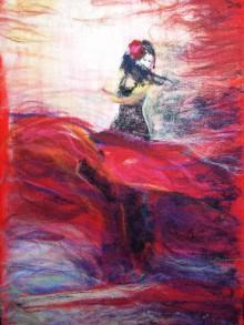 Obrazy - V rytme flamenca (Arttex) - 6437580_