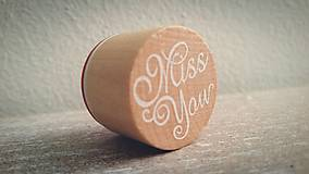 """Pomôcky/Nástroje - Pečiatka """"Miss You"""" - zľava z 1,50€ - 6440150_"""