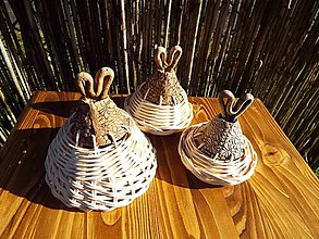Dekorácie - Trio -zvončeky s pedigom - 6439105_