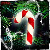 Dekorácie - Vianočné lízatko NA ZÁKAZKU - 6439597_