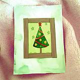 Papiernictvo - Vianočná recy pohľadnica 1 - 6439662_