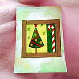 Papiernictvo - Vianočná recy pohľadnica 2 - 6439695_