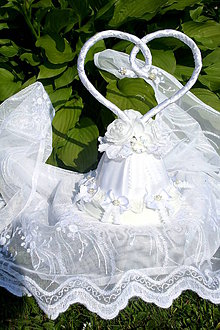 """Dekorácie - """"Sila lasky"""" na vrchole torty ci svadobneho stola - 6443290_"""