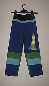 "Detské oblečenie - detské softshellové nohavice ""poletíme, poletíme, poletíme..."" - 6442539_"