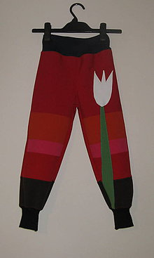 Detské oblečenie - softshellové nohavice - 6442587_
